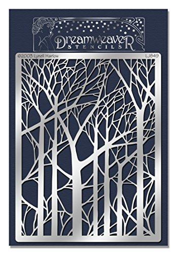 Metal Bending Machine >> Stampendous Dreamweaver Metal Stencil, Bare Trees – Oremal