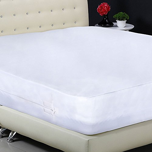 Protect A Bed Allerzip Smooth Waterproof Pillow Protector
