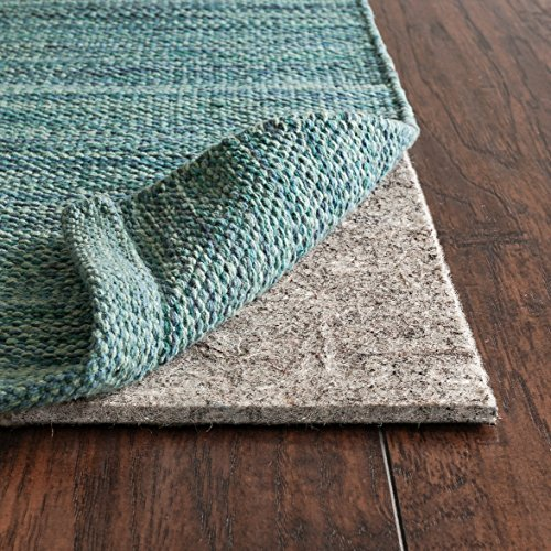 Rug Pad USA, 1/4″ Thick, Felt And Rubber, 3'x5′, Superior