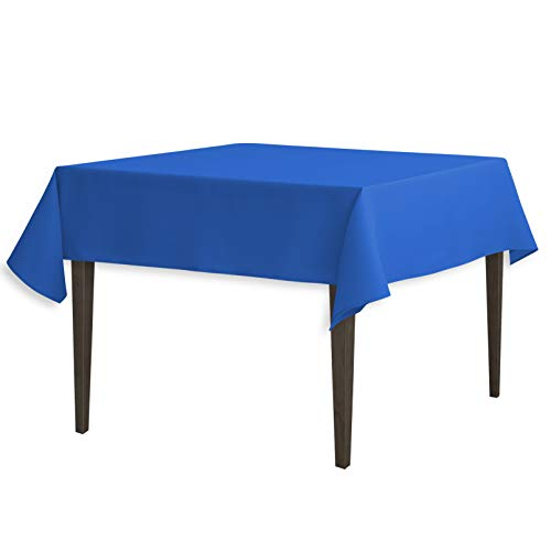 Linentablecloth 54 Inch Square Polyester Tablecloth Royal