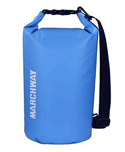 1L DRY SACK WATERPROOF Ultra light roll top bag Black Tough camping hiking pouch