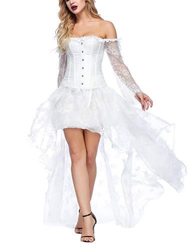 Top 10 Weißes Kleid Spitze - Kostüme für Erwachsene - Oremal